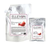 "Альгинатная маска с гранатом (гель+коллаген) Ellevon ""Pomegranate Modeling Mask"""