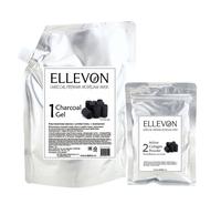 """Альгинатная маска с углем (гель + коллаген) Ellevon """"Charcoal Modeling Mask"""""""