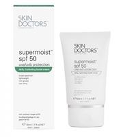 """Увлажняющий солнцезащитный крем для лица """"Supermoist SPF50 Accelerator"""""""