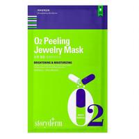 Storyderm Шелковая маска O2 Peeling Jeweiry Mask