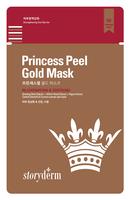 Storyderm Антивозрастная маска на тканевой основе PREMIUM PRINCESS PEЕL GOLD MASK